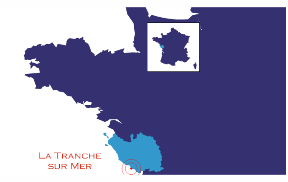 Plan d'accès La Tranche-sur-Mer
